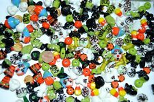 200 Assorted Halloween Lampwork Glass Beads in BULK WHOLESALE