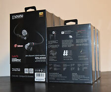 DUNU DN-2002 2BA+2 Dynamic Hybrid Earphone 4 Driver In Ear Headphone Hi-Fi IEM