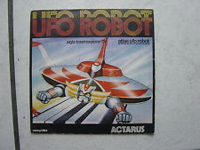 "Japan -  S.F. Serie   70 er Jahre- ""Musik Single"" Actarus  ""Atlas Ufo Robot"
