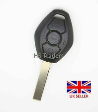 NEW BMW 3 5 X series 3 BUTTON REMOTE KEY FOB Shell case with blank blade HU92R *