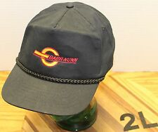 VERY NICE BARR-NUNN BLACK SNAPBACK HAT IN VERY GOOD CONDITION
