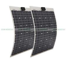 Mono Flexible Solar Panel (2pcs) 40W 80W Solar Module of Thin Aluminum Substrate