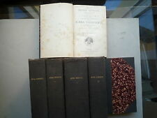 1886 SUMMA THELOGICA DIVI THOMAE AQUINATIS A LEONE XIII COMPLET 6 VOL DONT INDEX
