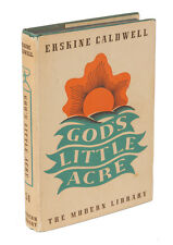 "SIGNED & INSCRIBED by Erskine Caldwell - ""God's Little Acre"" - RR Auction COA"