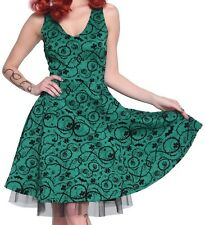 GOTHIC DC COMIC BOMBSHELLS EXCLUSIVE POISON IVY SWING DRESS RETRO BATMAN NWT SM