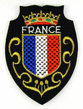 ECUSSON VILLE  REGION BLASON BRODE EMBROIDERED PATCH MERESSE DRAPEAU FRANCE