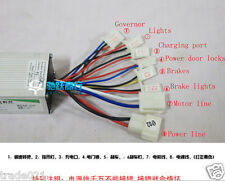 24V 250W LB27 Electric Bicycle Brush Speed Motor Controller For E bike Scooter