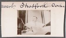 VINTAGE 1897 PHOTOGRAPH STRATFORD CONNECTICUT VICTORIAN BABY FASHION OLD PHOTO
