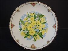 ROYAL ALBERT QUEEN MOTHERS FAVOURITE FLOWERS PRIMROSES PLATE