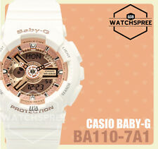 Casio Baby-G Layered 3D Metallic Face Watch BA110-7A1