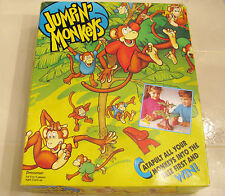 JUMPIN MONKEYS SEE IF YOU CAN MAKE THE MONKEYS HANG FROM THE TREES AGE 5 & UP