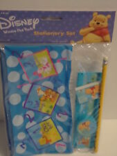 Winnie the POOH 4 pc School Kit Pencil Pouch Eraser Sharpener Ruler FREE SHIP