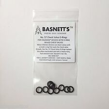 Basnett's #57 Check Valve O-Rings for Coleman Camping Lanterns and Stoves