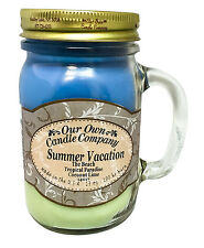 Summer Vacation Scented Candle in 13 oz Mason Jar by Our Own Candle Company
