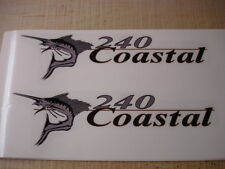 Wellcraft Coastal 240 Fishing Boat Decal Set