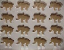 """Martillado molde para el horno cortadores de la galleta multipla """"elefantes"""""""