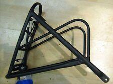 UNIVERSALE Bicicletta Rack posteriore telaio in alluminio nero