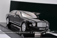 Minichamps 1:18 BENTLEY MULSANNE 2010 black