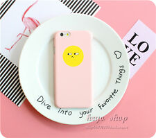 Cute Cartoon Smile Face Heart Cactus Hard PC Case Cover For iPhone 5S 6 6S 7Plus