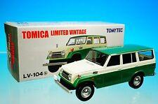 TOMYTEC TOMICA LIMITED VINTAGE LV-104b TOYOTA LANDCRUISER FJ56V S=1/64 New!!