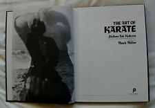 THE ART OF KARATE BY SHIHAN TAK KUBOTA PHOTOGRAPHIC MARTIAL ART BOOK 1977 1ST