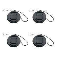 4pcs 77mm Center-Pinch Front Lens Cap for Nikon Canon Sony Olympus replacement