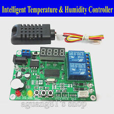 5/12V24V Digital Intelligent Temperature&Humidity Controller Relay Thermostat TE