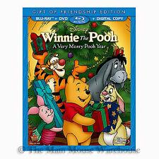 Disney Christmas Winnie The Pooh A Very Merry Pooh Year Blu-ray DVD Digital Copy