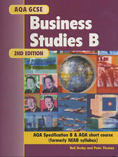 AQA GCSE Business Studies B 2nd Ed,GOOD Book