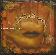 The Spoken And The Unspoken by Andy Timmons (CD, Sep-1999, CD Baby...