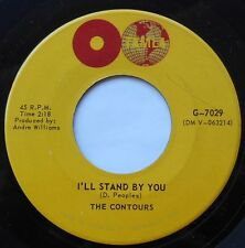 THE CONTOURS Can you do it / I'll stand by you Ex- NM- CANADA 1964 FUNK SOUL 45