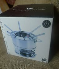 EH Excellent Houseware Stainless Steel Foundue Set for 6 persons