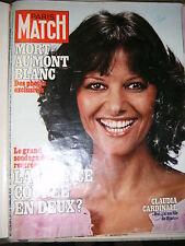 Paris Match N° 1477 16/9/1977 Claudia Cardinale Kennedy Platini Hitler Torrijos