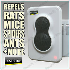 ULTRASONIC Plug In PET-FRIENDLY Indoor PEST REPELLER House Mouse Rat Rodent