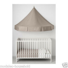 IKEA CHARMTROLL Bed canopy, beige. Child can sit play or read. The Best -B111