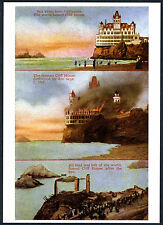 SAN FRANCISCO CLIFF HOUSE BURNING SEPT. 7, 1907~NEW 1979 TRI-IMAGE MINT POSTCARD