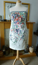 *BNWT*MONSOON CHATSWORTH DRESS* SZ 20* FLORAL BEADED STRAPS MOB BRIDAL £149