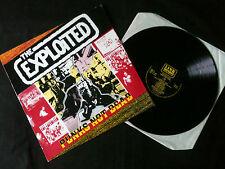 The Exploited - Punk's Not Dead  LP UK 1988 VG+/VG+   #  Punk