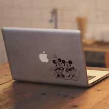 "Disney Retro Mickey Minnie for Macbook Air Pro 11 12 13 15"" Vinyl Decal Sticker"