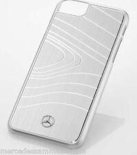 """Mercedes Benz Original Hülle/Case für iPhone® 6s & 7 """"She´s"""" Weiss Alu Neu OVP"""