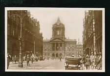 Lancashire Lancs LIVERPOOL Castle St street level view c1920s? RP PPC