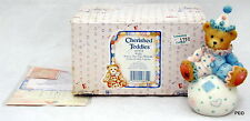 Cherished Teddies Wally You're The Tops With Me 103934 Bear Clown on Ball 1995