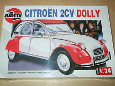 Airfix-citroen 2CV dolly - 1/24 scale-brand new & sealed + peintures-rare