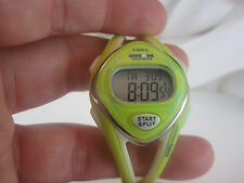 Women's TIMEX Ironman Lime Green 50 Lap Multi Function Sports Watch M892 *12