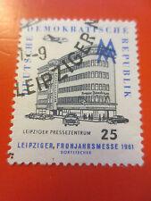 1961 - DDR - Mi.Nr. 814 - Leipziger Frühjahrsmesse - gestempelt