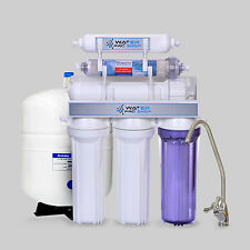 6 Stage Drinking Water Reverse Osmosis Filter System w/ pH Alkaline | 50 GPD