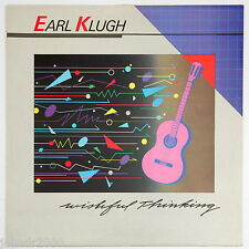 LP RECORD - EARL KLUGH - WISHFUL THINKING