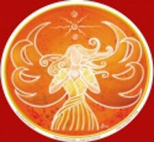 Angel Art Window Sticker: Angel of Creativity