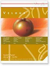 Hahnemuhle Velour Pastel Paper Pad - WHITE - 24 x 32cm