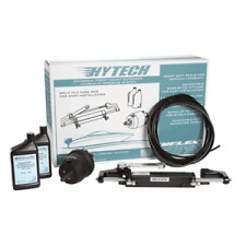 Uflex Hydraulic Steering Kit Up to 150HP Helm Actuator Cylinder Hose HYTECH 1